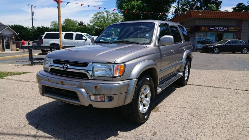 2002 toyota 4runner limited 4wd 4dr suv cars - dearborn heights, mi at geebo