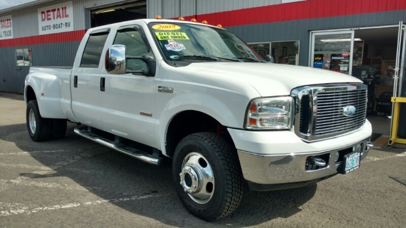 $21,499, 2007 Ford F350 Lariat 4x4 Diesel Dually