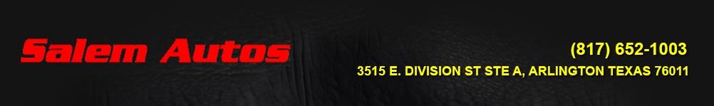 Salem Autos. (817) 652-1003