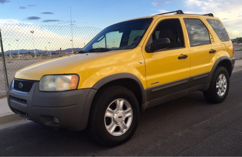 2002 ford escape yellow 2002 ford escape car for sale in las vegas nv 4046182117 used cars. Black Bedroom Furniture Sets. Home Design Ideas