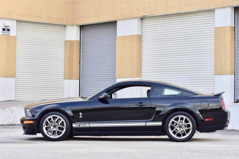 2008 Ford Mustang Shelby GT500 Coupe: 2008 Ford Mustang Shelby GT-500