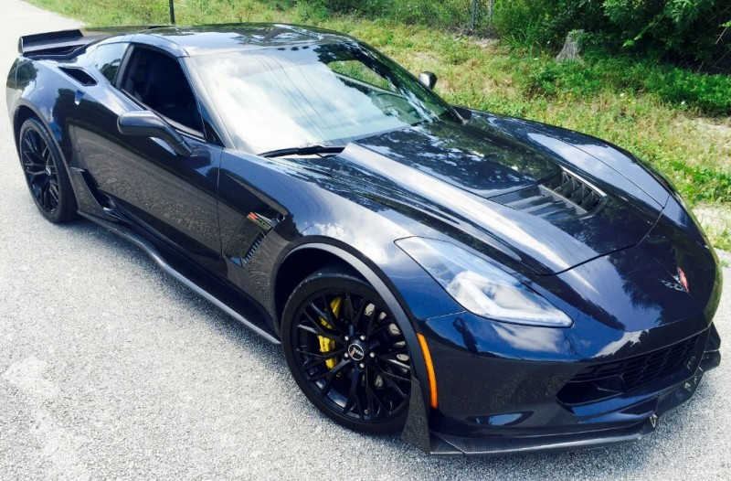Chevrolet Corvette Z06 3LZ Night Race Blue, Mods!! 2015
