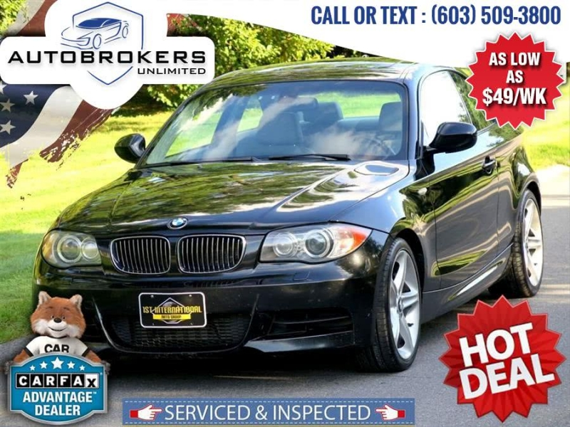 2010 bmw 1 series 135i coupe 2d cars - derry, nh at geebo