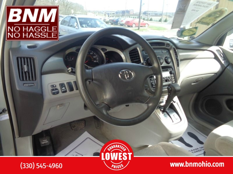 Toyota Highlander 2001 price $3,990