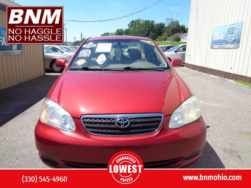 Toyota Corolla 2006 price $3,990