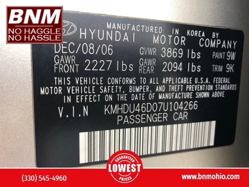 Hyundai Elantra 2007 price $3,200