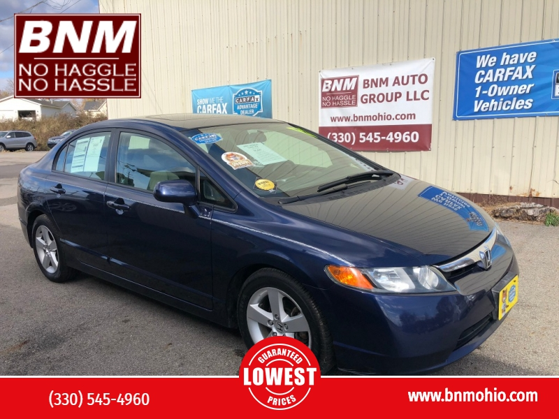 Honda Civic Sdn 2007 price $5,400