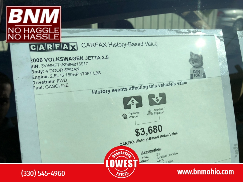 Volkswagen Jetta Sedan 2006 price $3,500