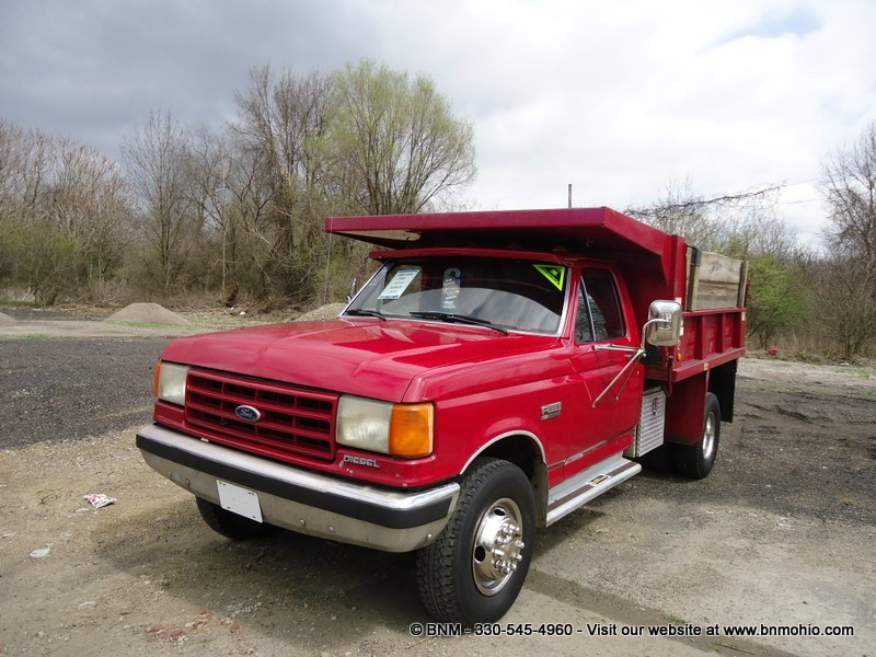 1988 Ford F450 Diesel Dump Truck Bnm Auto Group Inventory Used