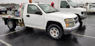 2009 Chevrolet Colorado 2WD Reg Chassis Cab Work Truck