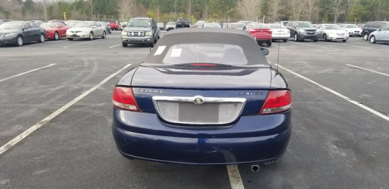 Chrysler Sebring Conv 2005 price $2,000