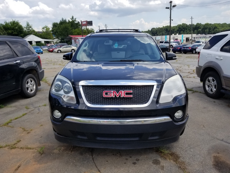 GMC ACADIA w/ 3RD ROW SEAT 2009 price $7,500
