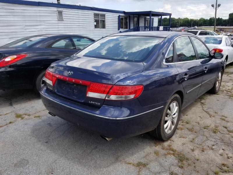 Hyundai Azera 2006 price $4,000