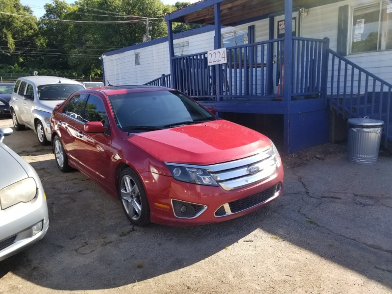 Ford Fusion 2010 price $5,000