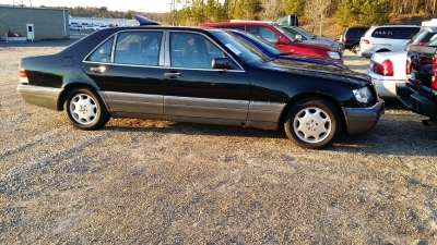 1996 Mercedes-Benz S Class 3.2L, LEATHER SEATS AND SUNROOF
