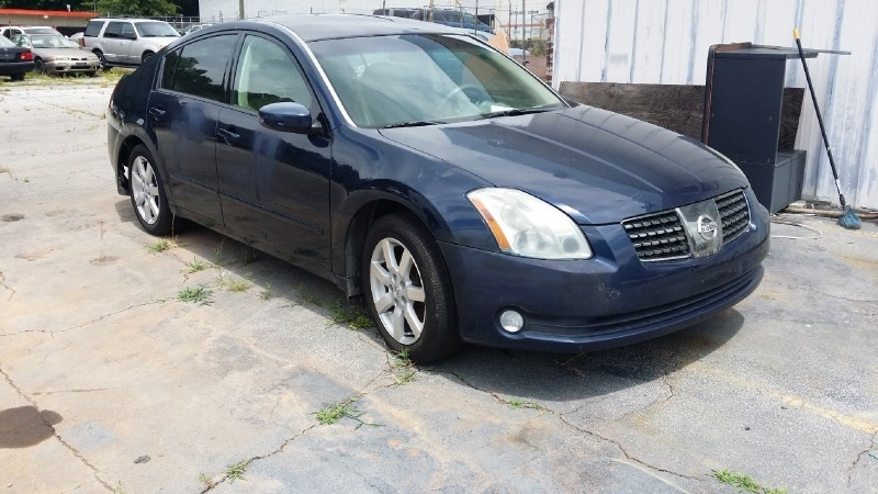 2004 Nissan Maxima Se Automatic Comes With Sunroof