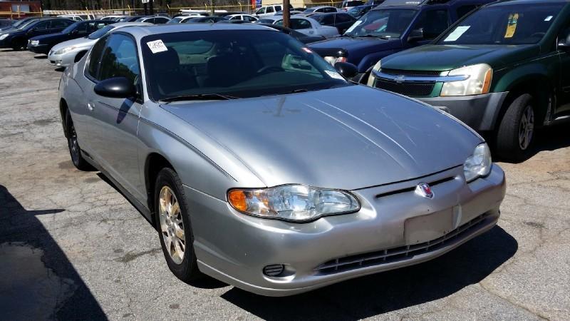 Chevrolet Monte Carlo 2005 price $3,000 Cash