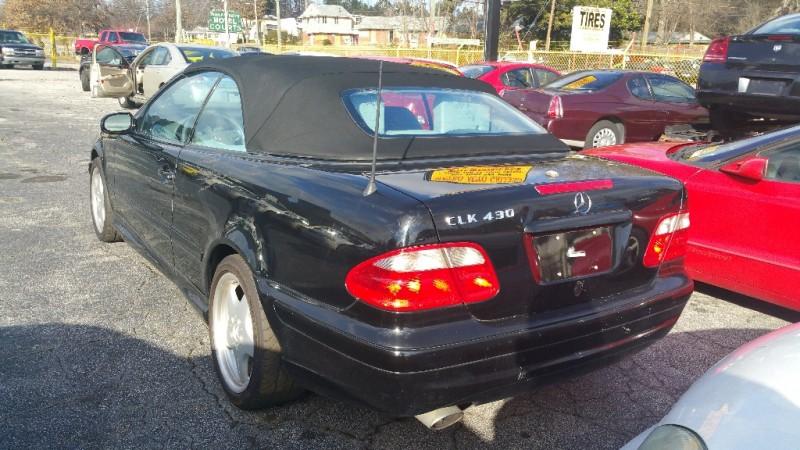 Mercedes-Benz CLK-Class 2001 price $1,500