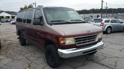"""1995 Ford Club Wagon HD Reg 138"""" WB Chateau"""