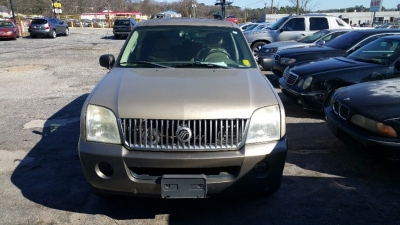 2003 Mercury Mountaineer, 3RD ROW SEAT, LEATHER
