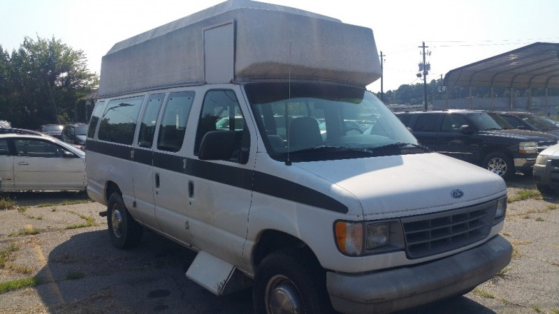 Ford Econoline WHEEL CHAIR AND PASSENGER VAN 1994 price $2,000