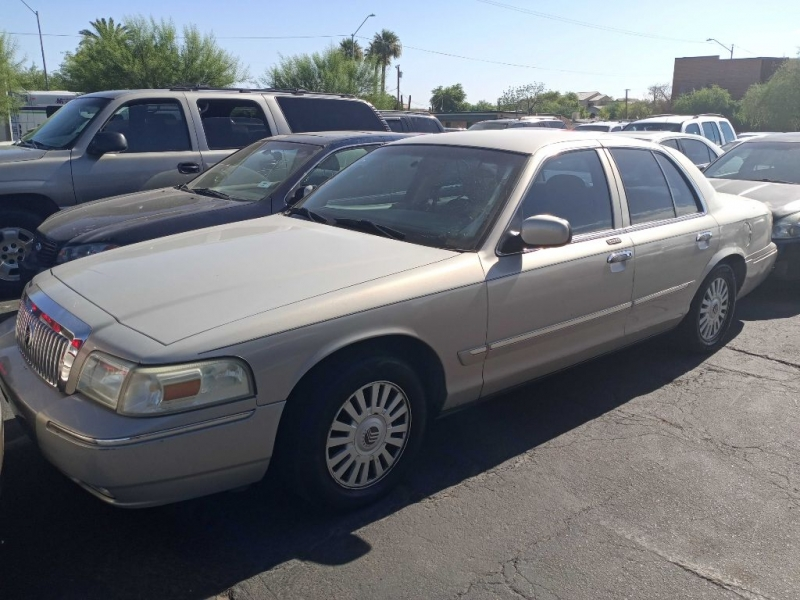 MERCURY GRAND MARQUIS 2007 price $2,900