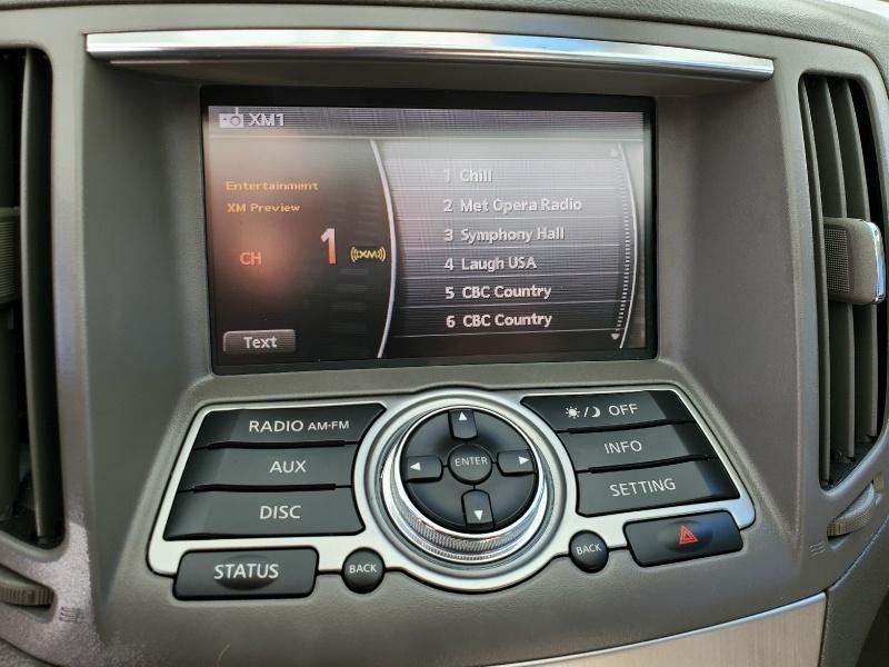 Infiniti G25 Sedan 2012 price $11,235
