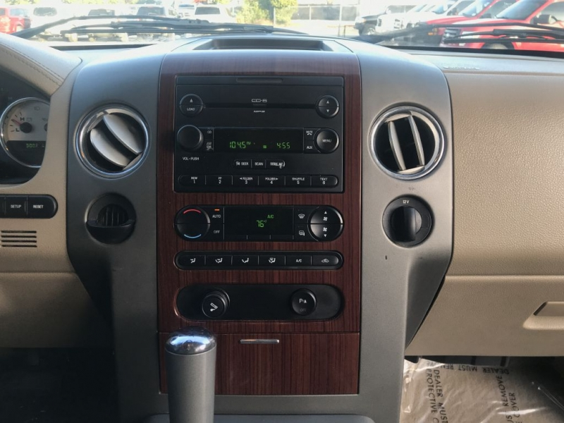 2005 ford f150 radio removal