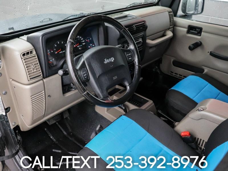 Jeep Wrangler 2005 price $13,995