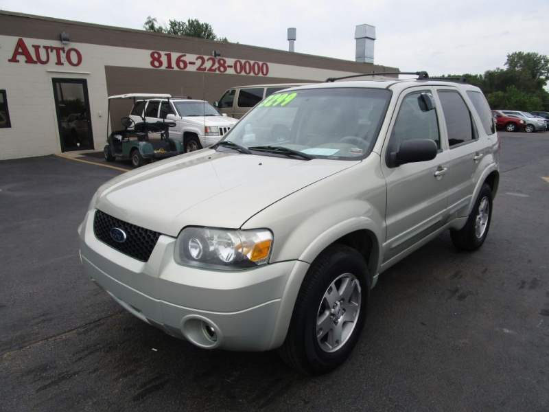 2005 ford escape limited leather loaded inventory a bright auto auto dealership in blue. Black Bedroom Furniture Sets. Home Design Ideas