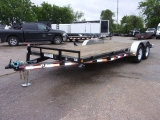 PJ Trailers 20' x 5 Channel Equipment 2018