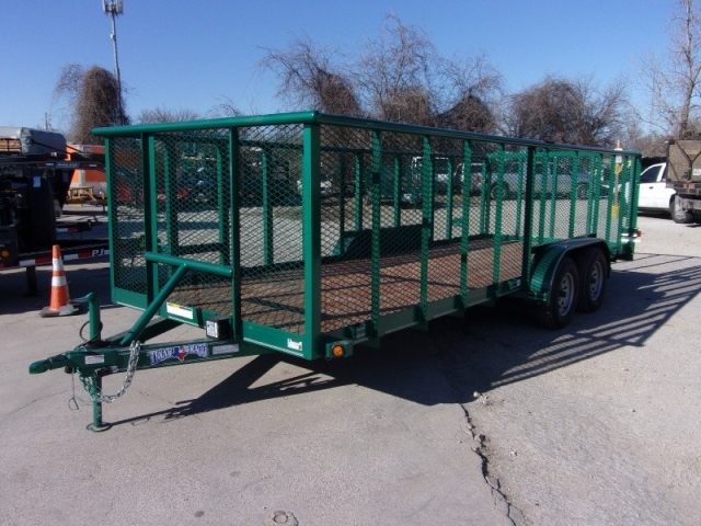 2018 Texas Bragg Trailers 18' LANDSCAPING