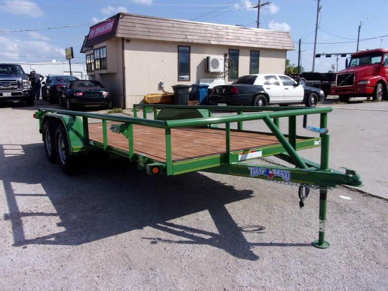 Texas Bragg Trailers 7X16 UTILITY 2018 price $1,695