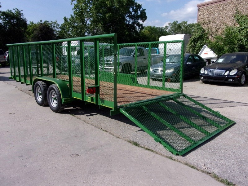 Texas Bragg Trailers 8X20 LANDSCAPING 2018 price $3,395