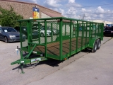 Texas Bragg Trailers 8X20 LANDSCAPING 2018