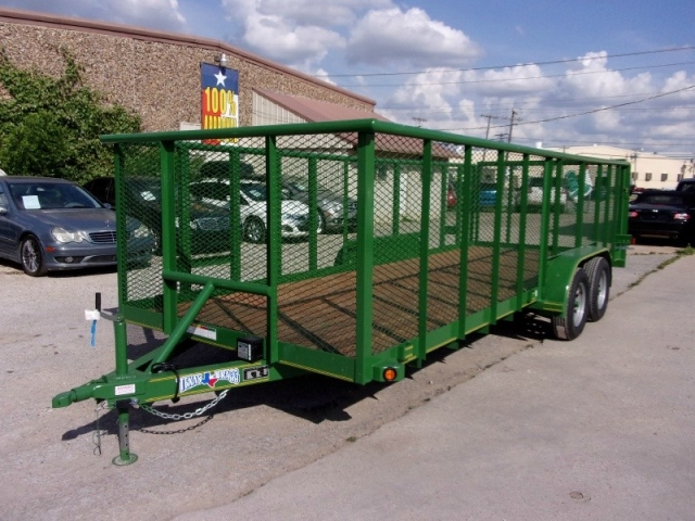 2018 Texas Bragg Trailers 8X20 LANDSCAPING