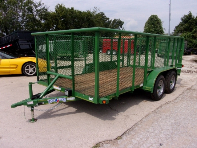 2018 Texas Bragg Trailers 7X14 LANDSCAPING