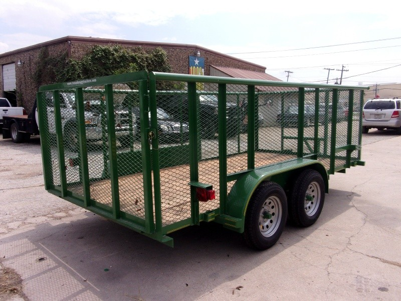 Texas Bragg Trailers 7X14 LANDSCAPING 2018 price $2,995