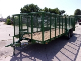 Texas Bragg Trailers LANDSCAPING 7X18 2018