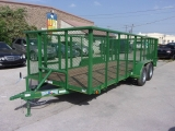 Texas Bragg Trailers LANDSCAPING 18X7 2018