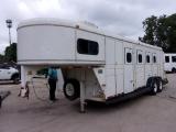 C M 4 HORSE 22' TRAILER A/C 4 HORSE 1994