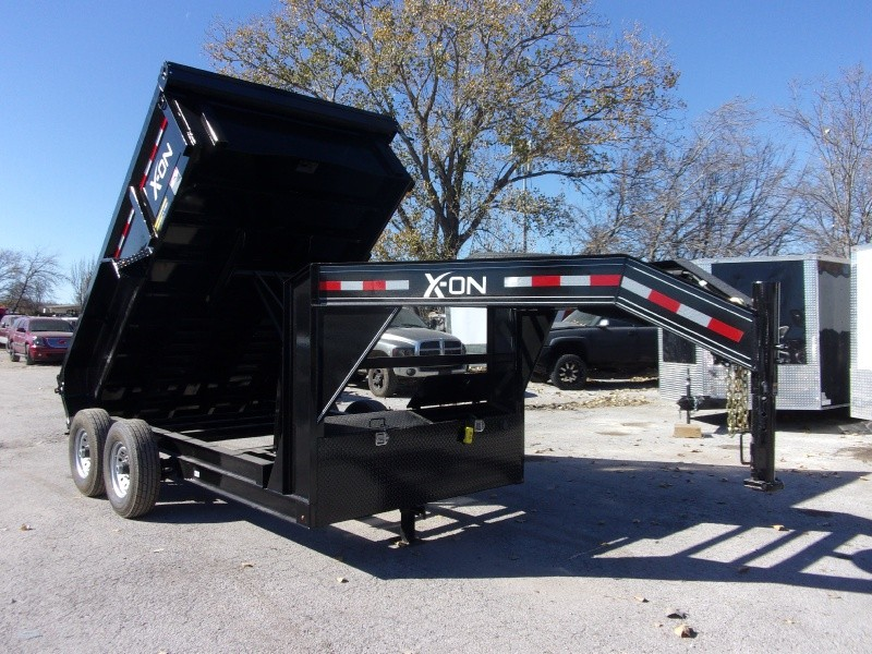 X-ON 12X83 GOOSENECK DUMP 2018 price $7,395