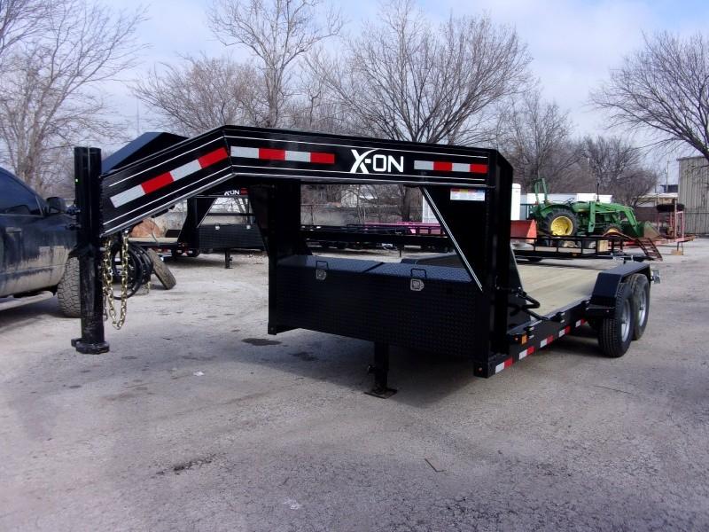 X-ON 16X83 CARHAULER GOOSENECK 2019 price $4,795