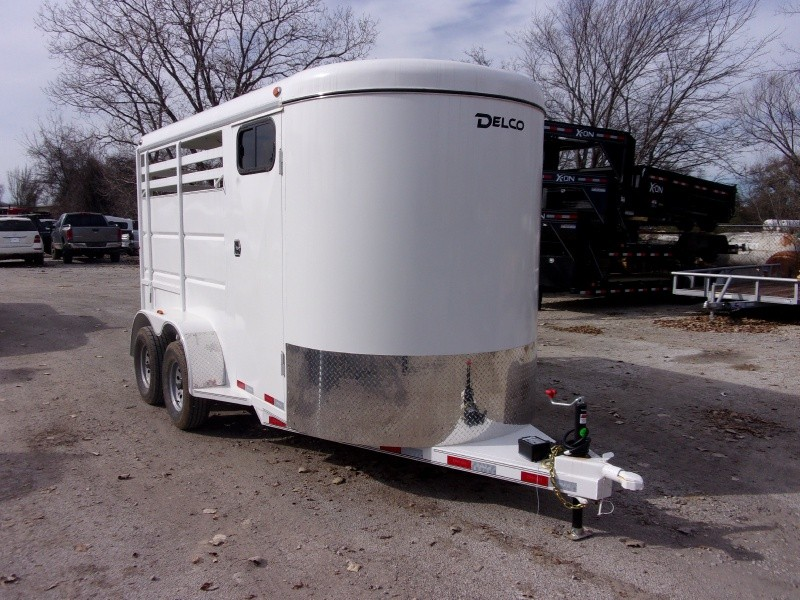 Delco Trailers 6X14 BUMPER 2 HORSE 2019 price $6,495