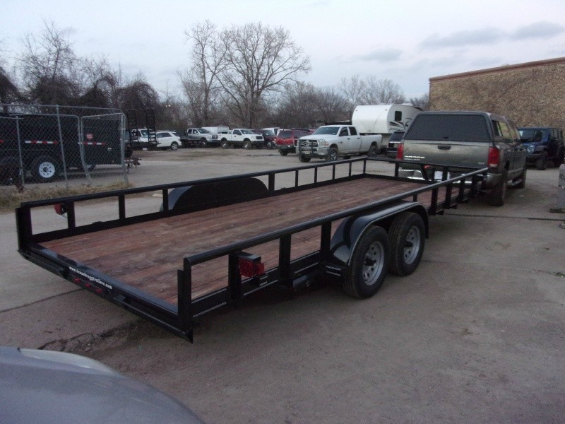 Texas Bragg Trailers 20X7 UTILITY 2019 price $3,195