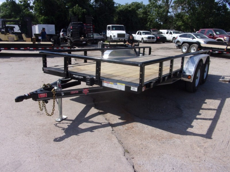 PJ Trailers 16X83 TNDM AXLE CHANNEL UTILITY 2019 price $3,795