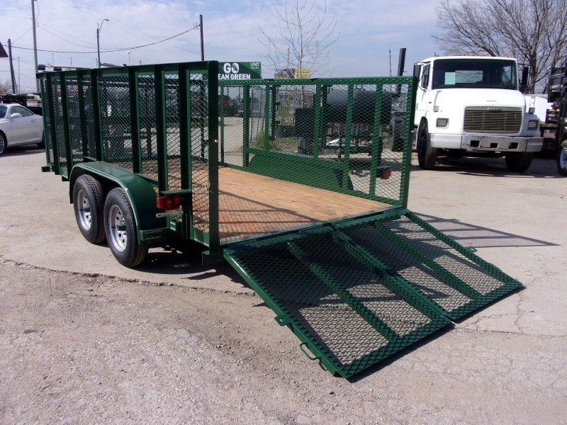 Texas Bragg Trailers 14X7 LANDSCAPING TRAILER 2019 price $3,995