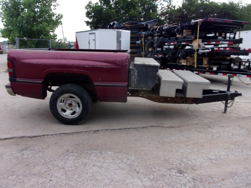 HOME MADE TRUCK BED TRAILER  1999 price $999
