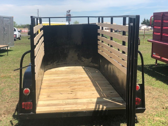 12x5 STOCK TRAILER ONE OF A KIND 2003 price $1,995