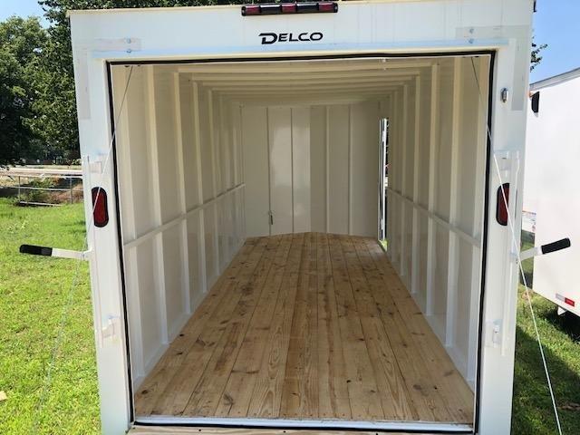 Delco Trailers BUMPERPULL ENCLOSED 10K 14X7 2019 price $7,695